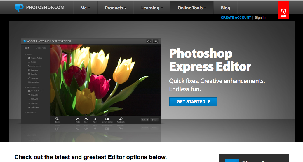 photoshop express gratis