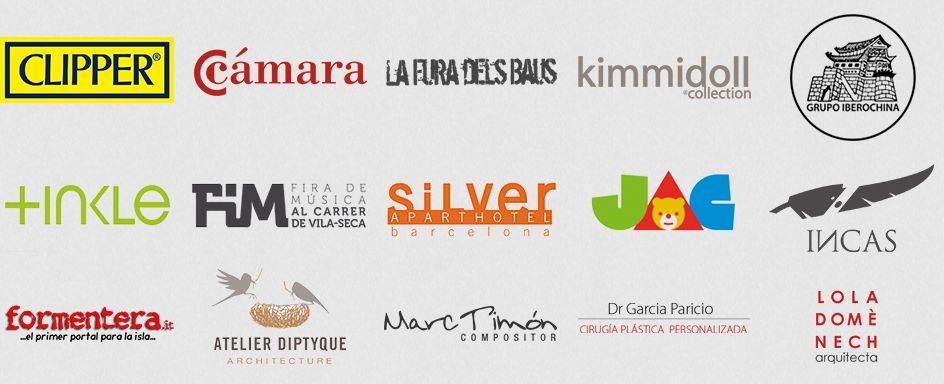 Logos clientes Diseño páginas web en Barcelona