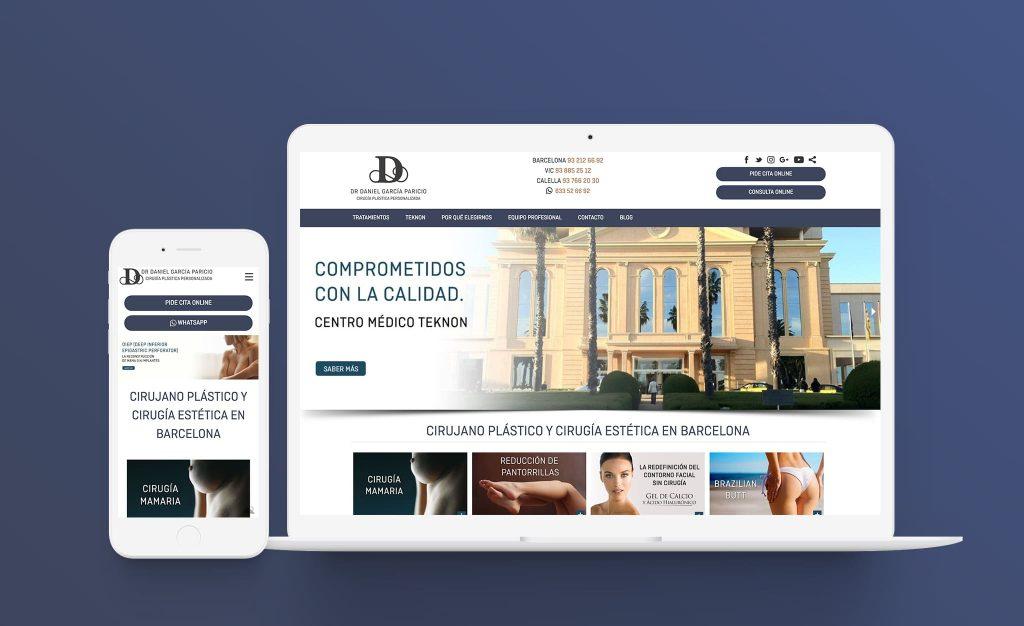 Dr Garcia Paricio página web