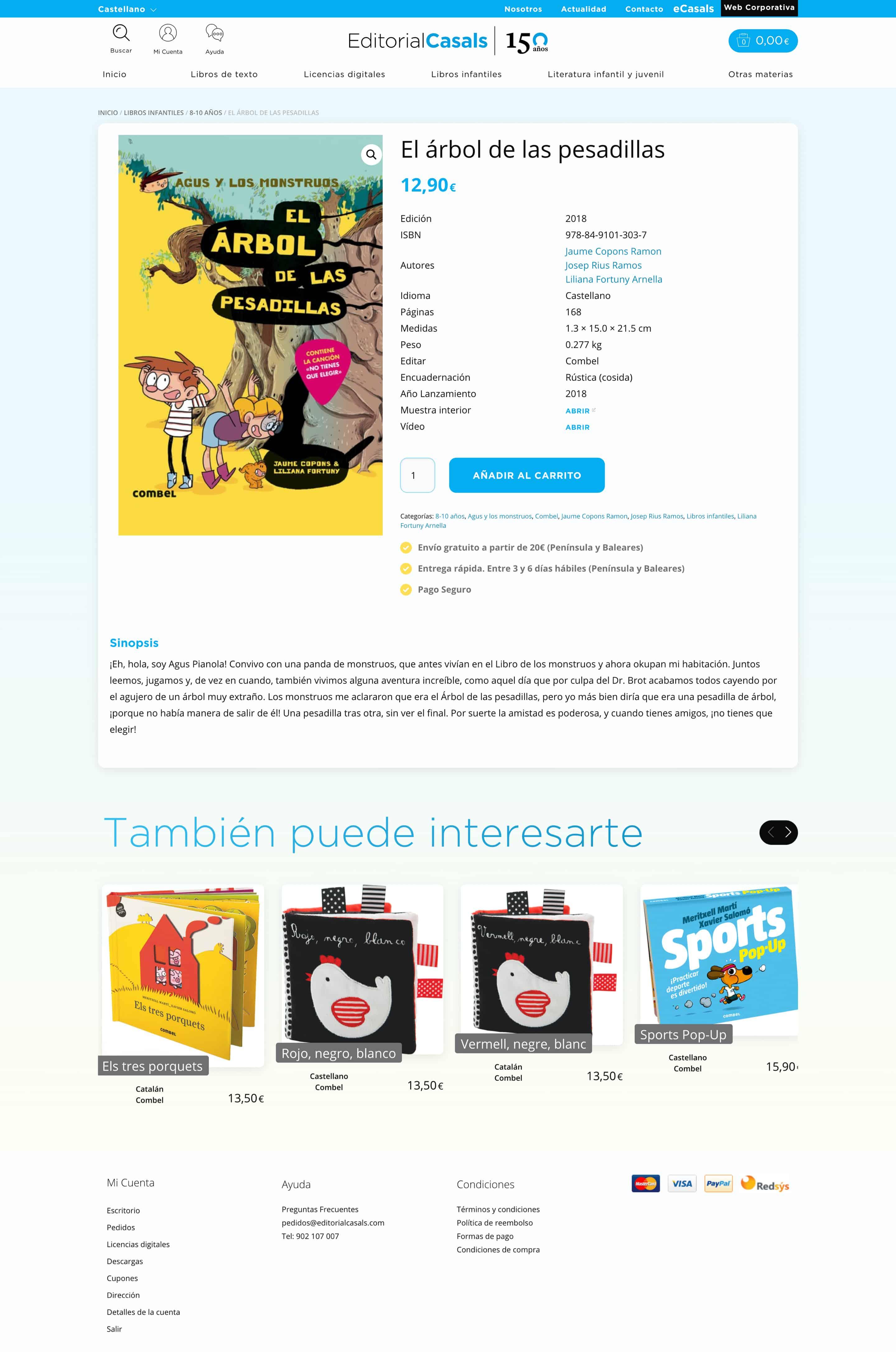 tienda online Editorial Casals