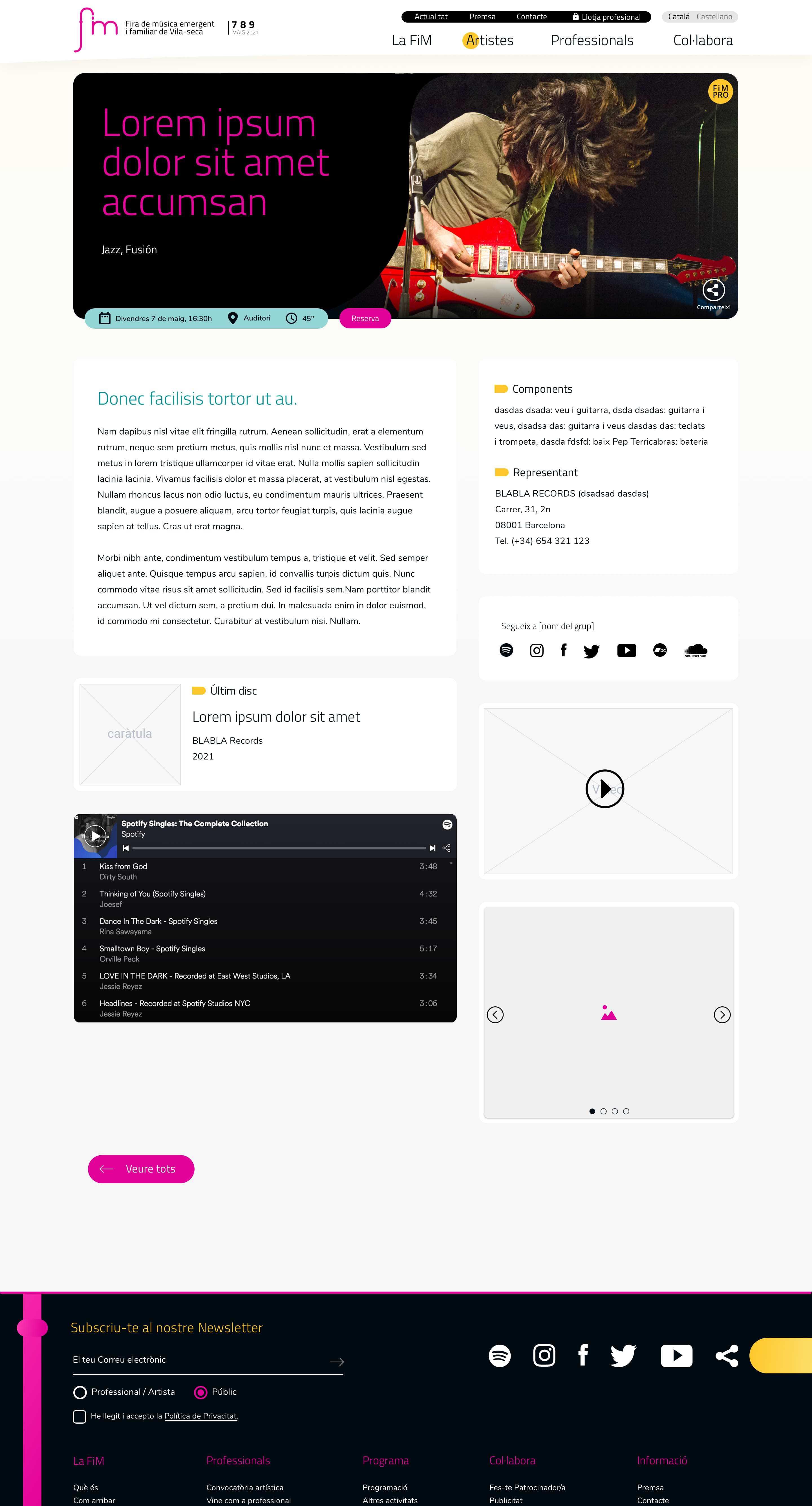 FiM Vila-seca diseño web