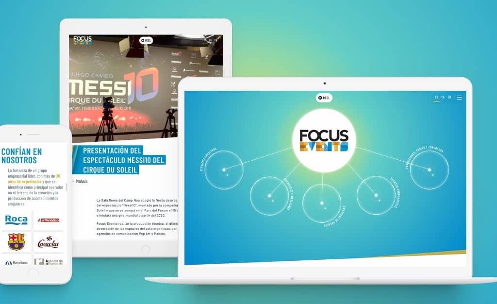 Focus Events Website