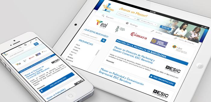 buscador responsive design barcelona