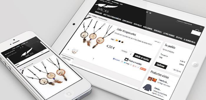 incas tienda online barcelona