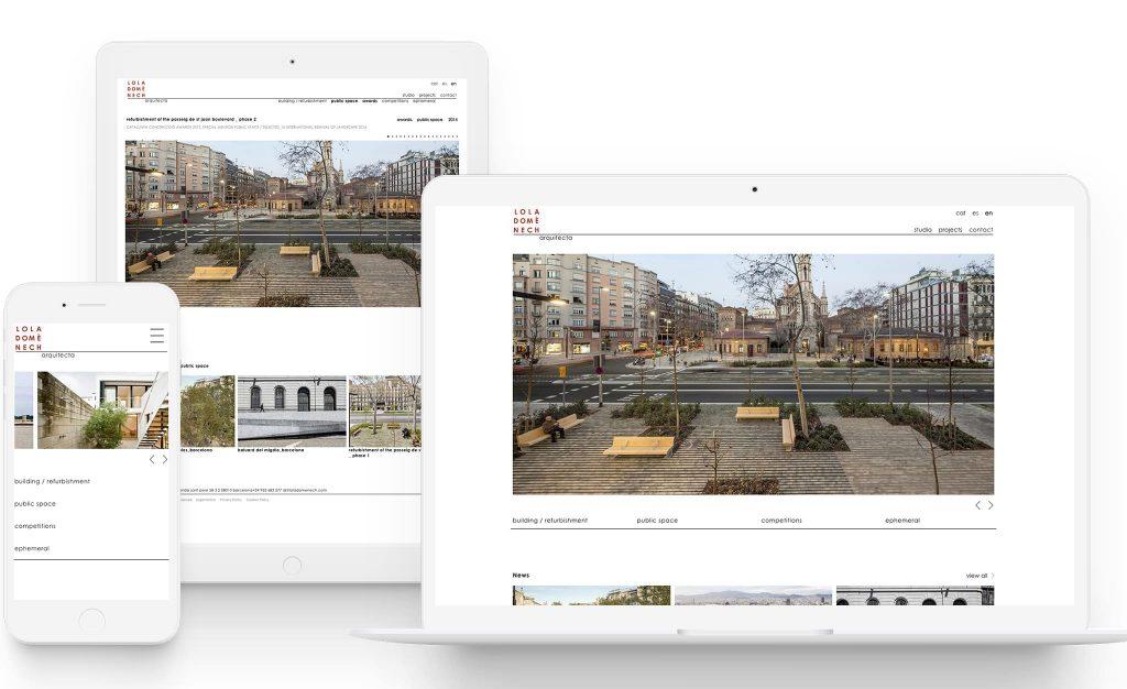 lola domenech arquitecta web barcelona