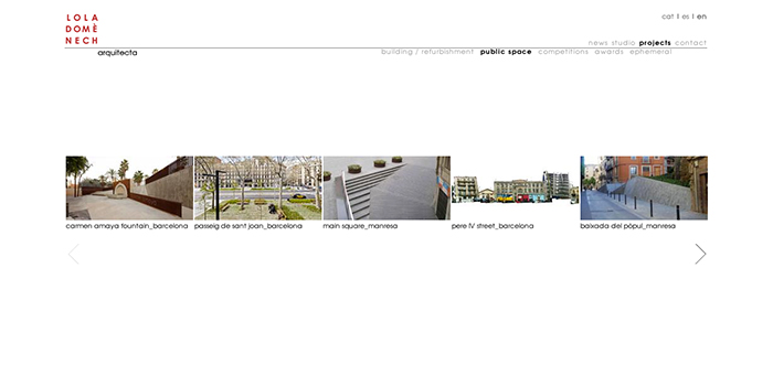 pagina web de lola domenech