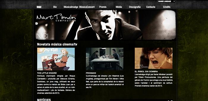 pagina web Marc Timón