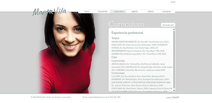 Marta Vila Actriu