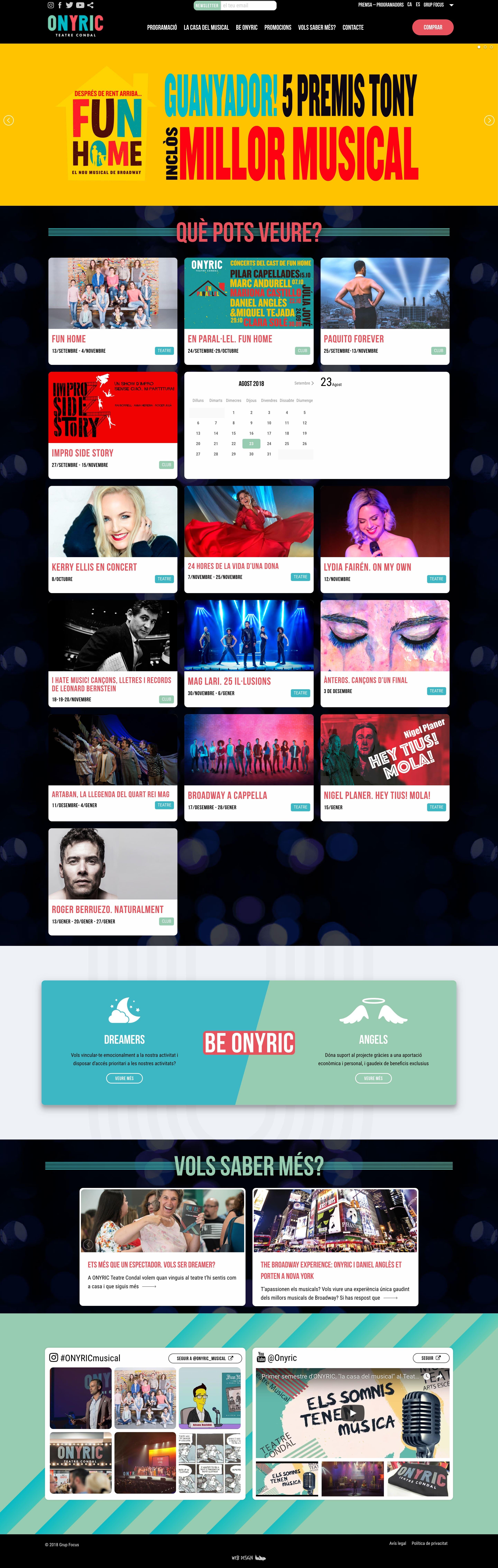 onyric diseño web