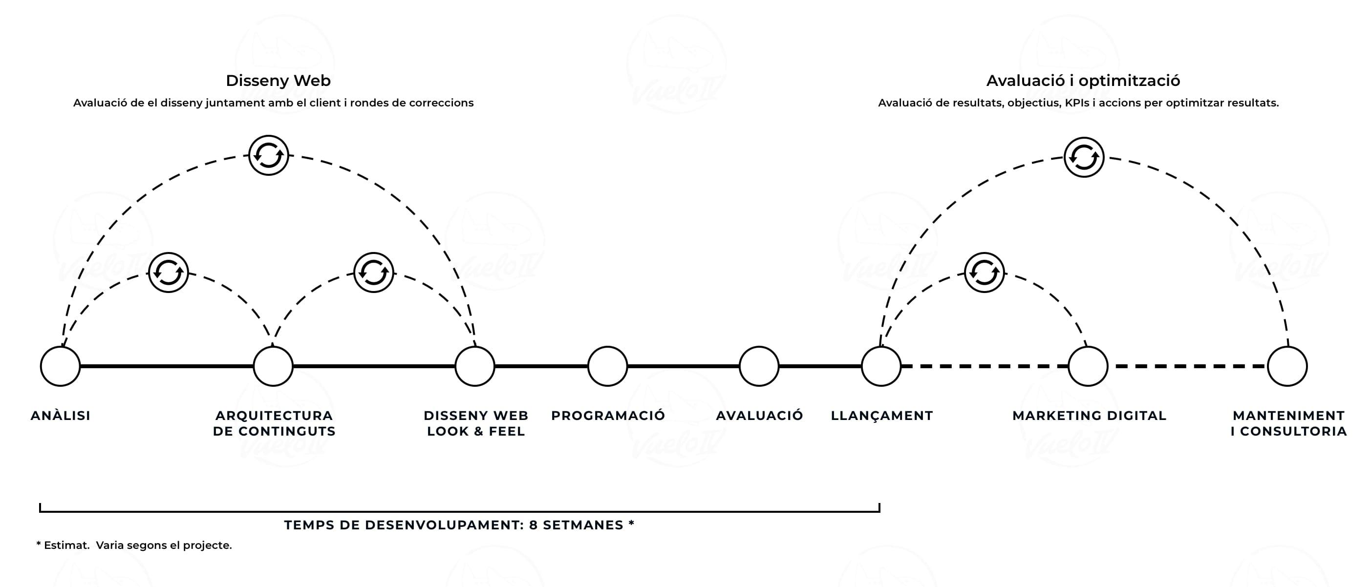 web disseny process