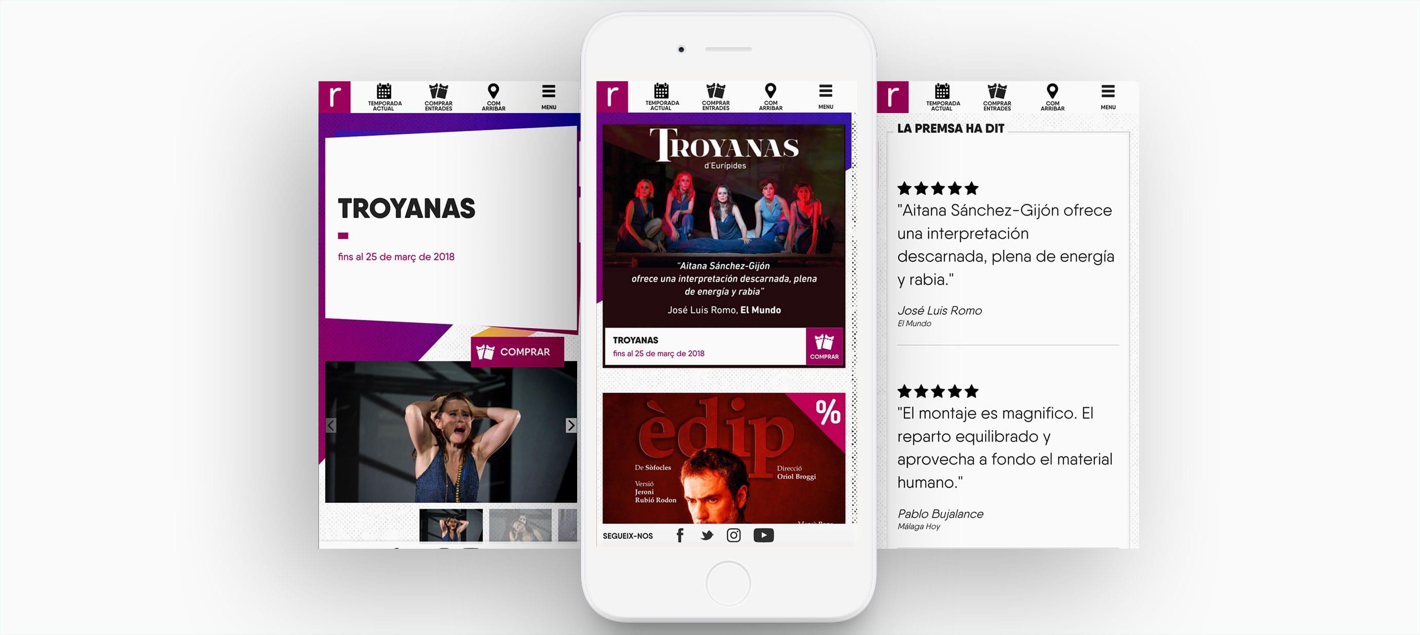 teatre romea barcelona pagina web