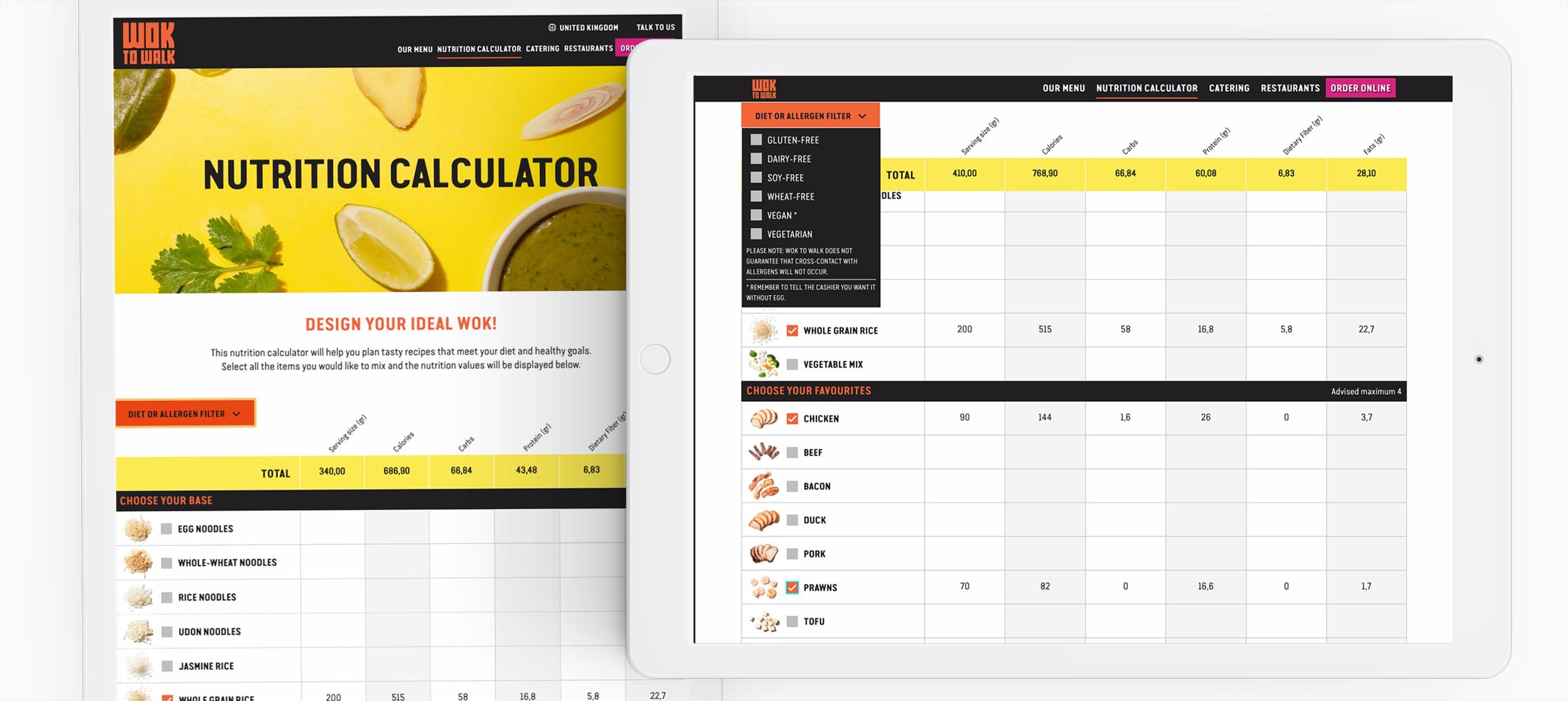 wok to walk web design