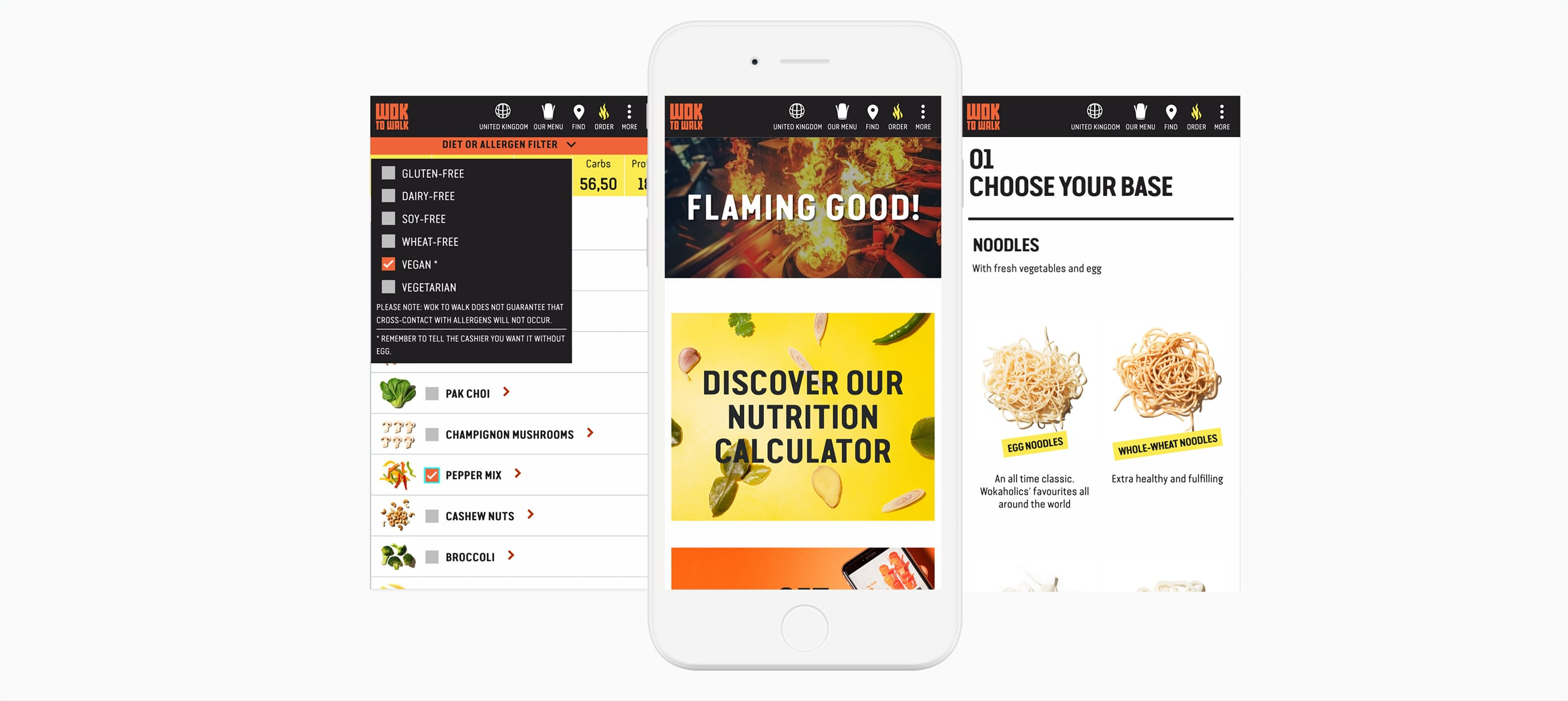 wok to walk web responsive design